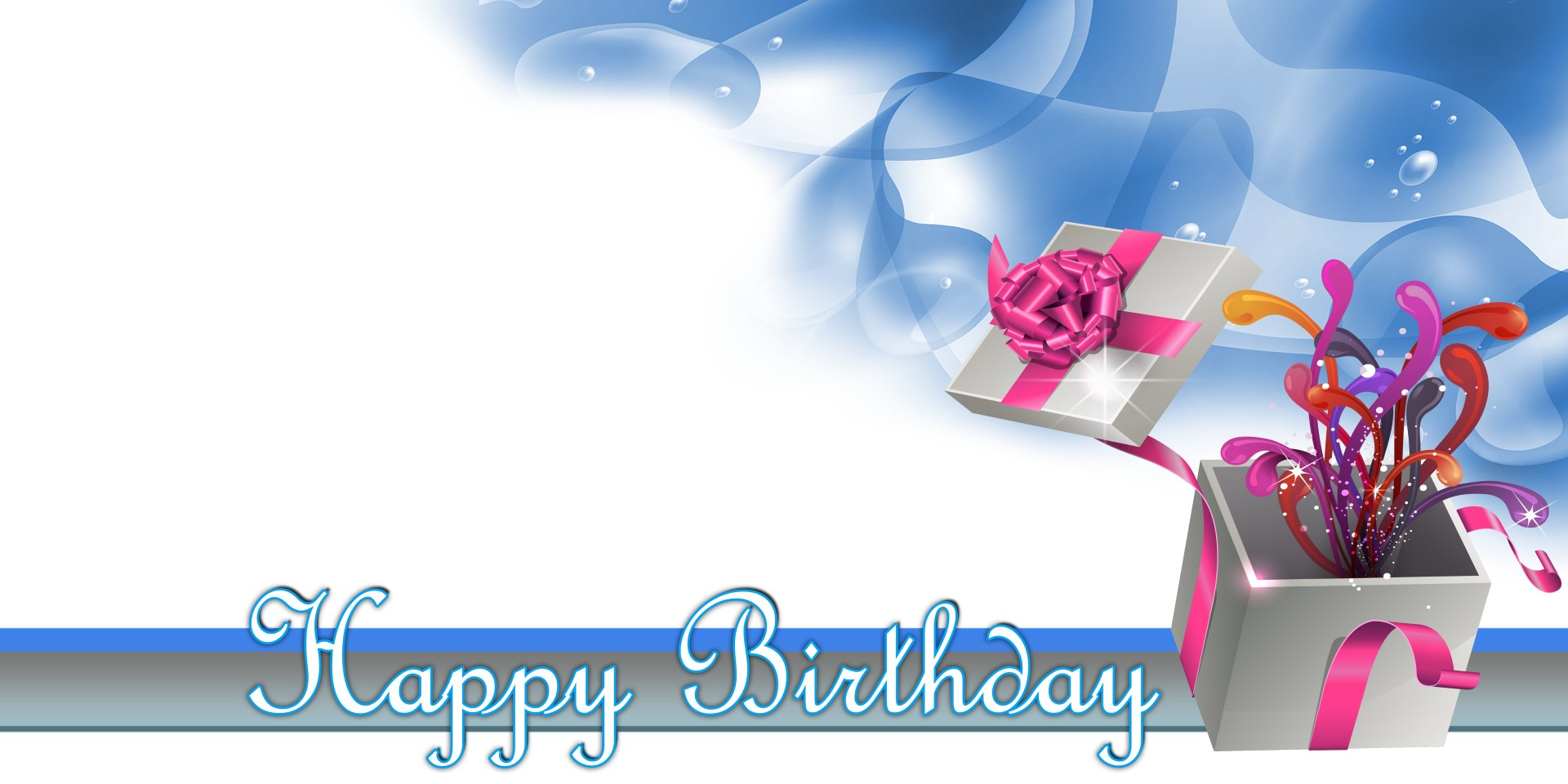 happy birthday banner blue gift vinyl banners gatorprints