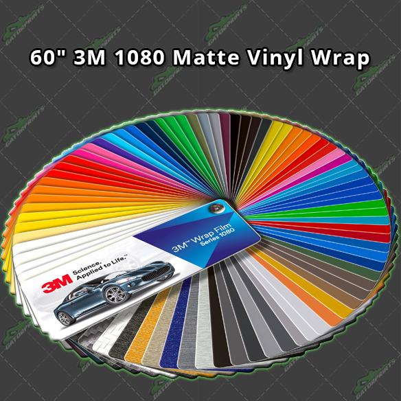 3M 1080 Matte Vinyl Wrap