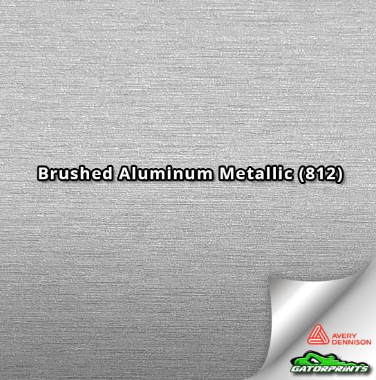 Brushed Aluminum Metallic (812)