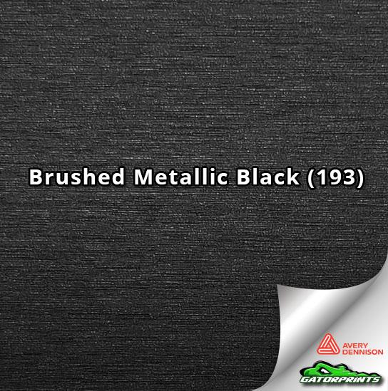 Brushed Metallic Black (193)