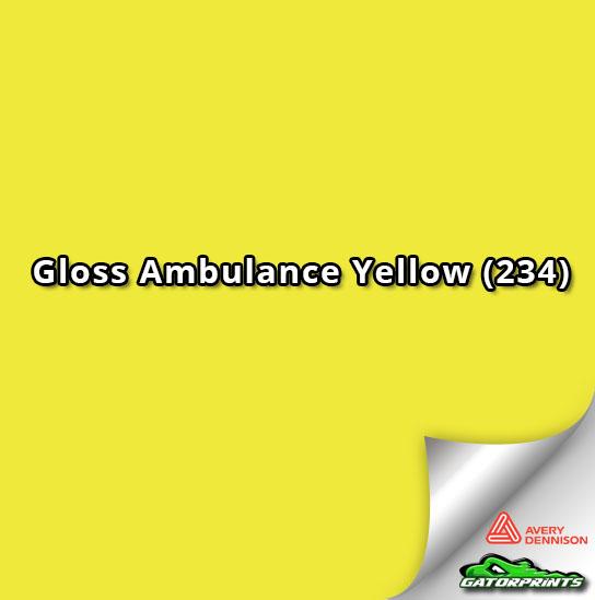 Gloss Ambulance Yellow (234)
