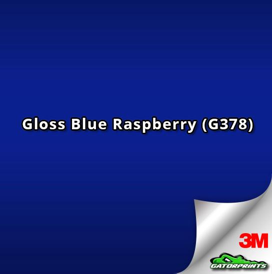 Gloss Blue Raspberry (G378)