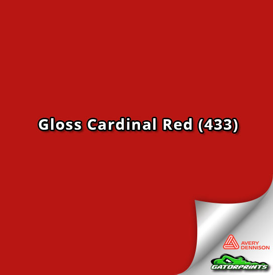 Gloss Cardinal Red (433)