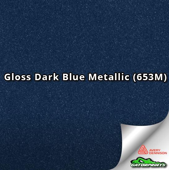 Gloss Dark Blue Metallic (653M)