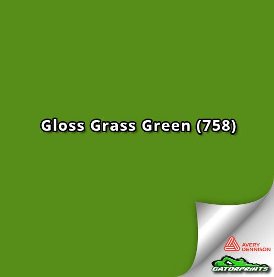 Gloss Grass Green (758)