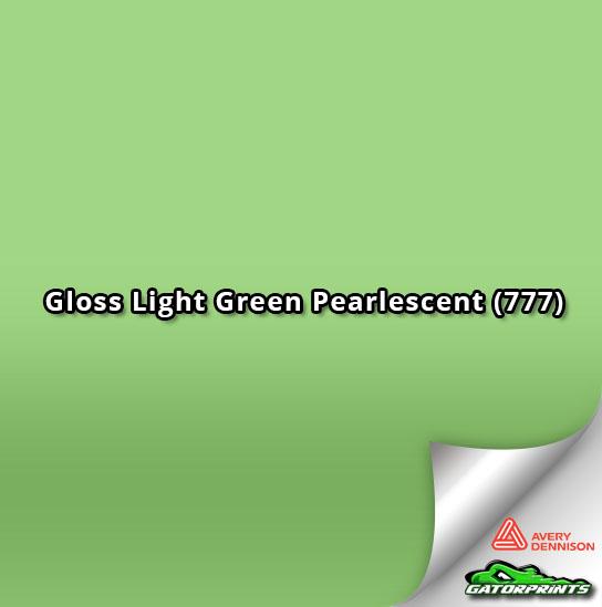 Gloss Light Green Pearlescent (777)