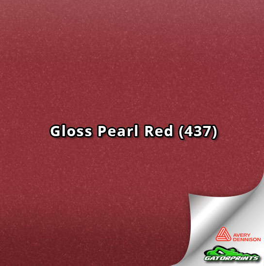 Gloss Pearl Red (437)