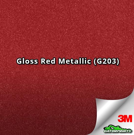 Gloss Red Metallic (G203)