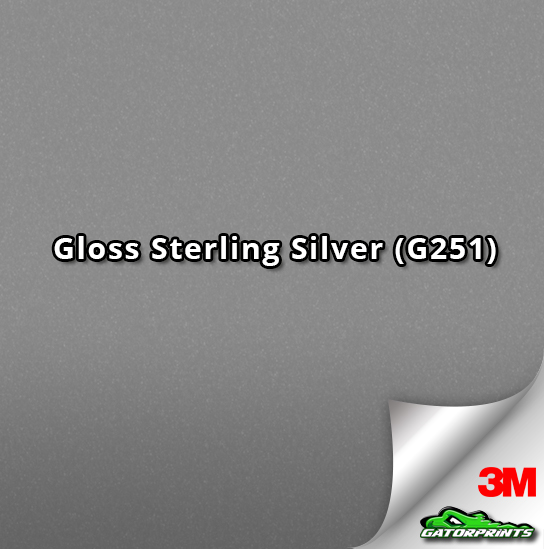Gloss Sterling Silver (G251)