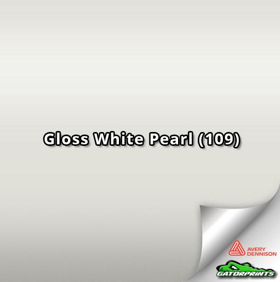 Gloss White Pearl (109)