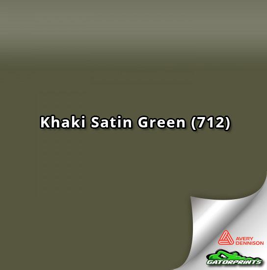 Khaki Satin Green (712)