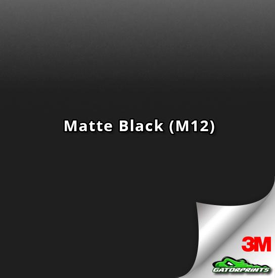 3M 1080 Matte Black (M12)
