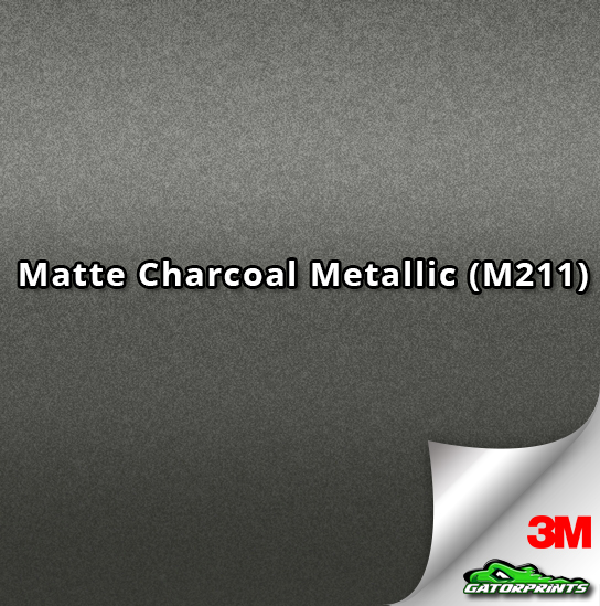 Matte Charcoal Metallic (M211)