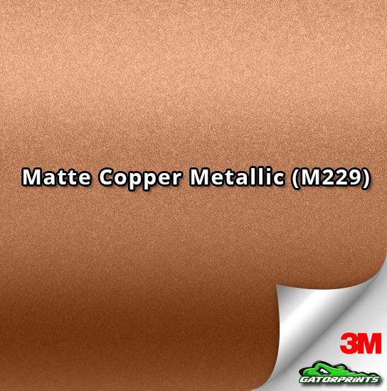 3M 1080 Matte Copper Metallic (M229)