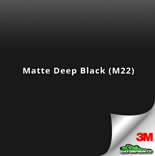 Matte Deep Black (M22)