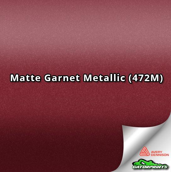 Matte Garnet Metallic (472M)