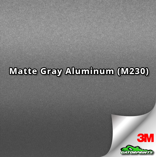Matte Gray Aluminum (M230)