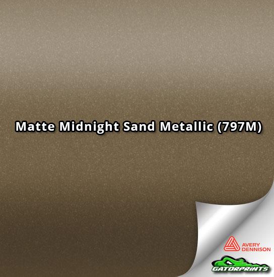 Matte Midnight Sand Metallic (797M)