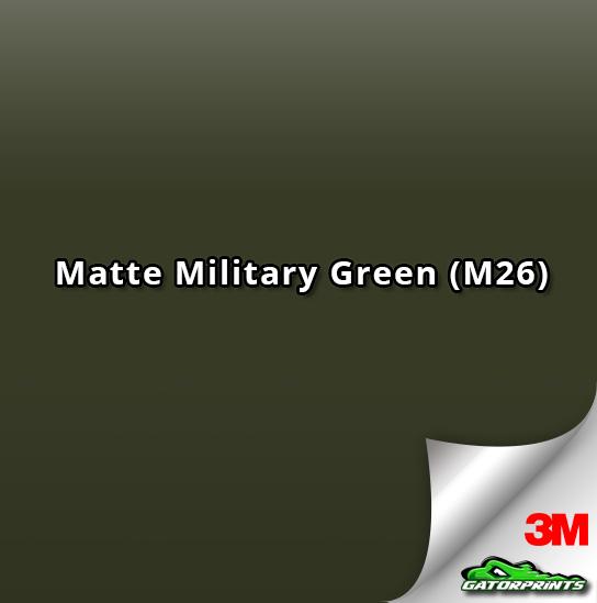 Matte Military Green (M26)