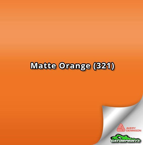 Matte Orange (321)
