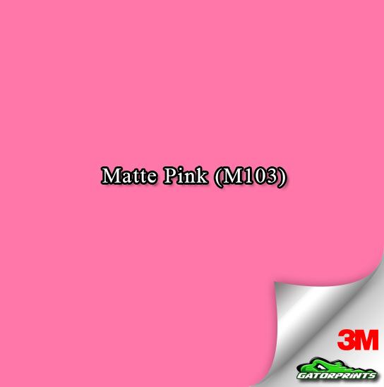 Matte Pink (M103)