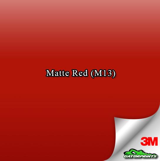 Matte Red (M13)