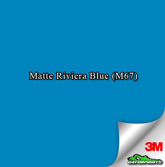 Matte Riviera Blue (M67)