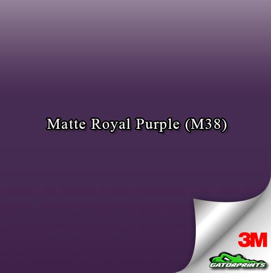 Matte Royal Purple (M38)
