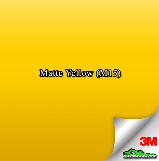 Matte Yellow (M15)