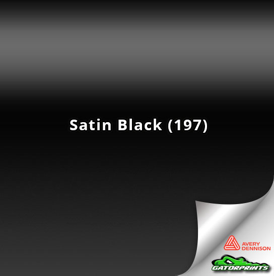 Satin Black (197)
