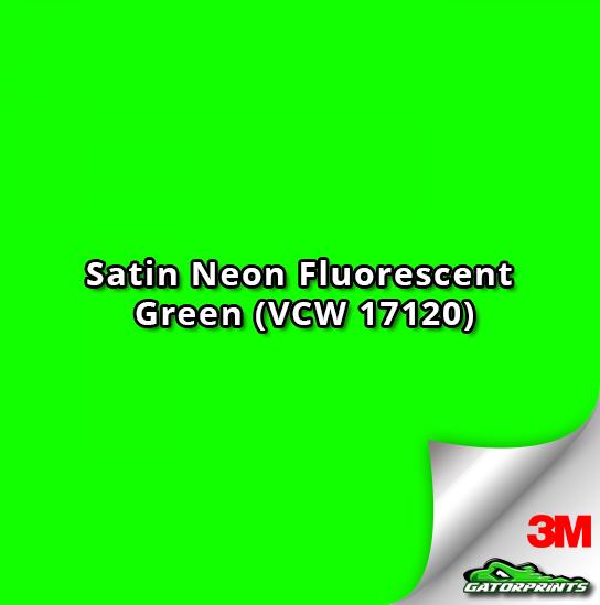 Satin Neon Fluorescent Green (VCW 17120)