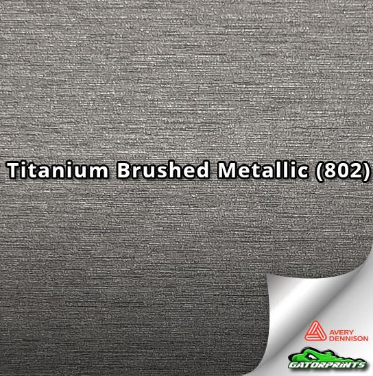 Titanium Brushed Metallic (802)